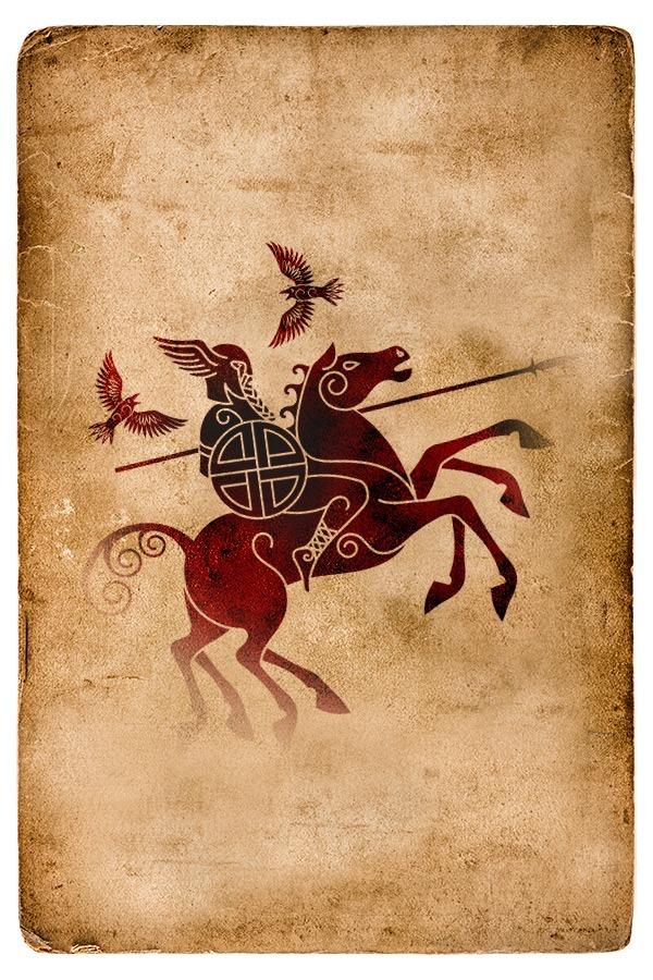 Sleipnir, le cheval d'Odin